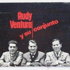 Autógrafos de Música : RUDY VENTURA Y SU CONJUNTO / AÑOS 60 / DEDICATORIA CON AUTOGRAFO. Lote 26484068