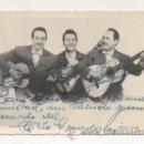 Autógrafos de Música : POSTAL DEL 'TRIO GUADALAJARA'. CON DEDICATORIA Y AUTÓGRAFO. . Lote 22548112