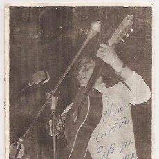 Autographes de Musique : MIKE CONDAL. TARJETA DE DISCOS BELTER CON AUTÓGRAFO. Lote 31307434