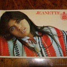 Autógrafos de Música : ANTIGUO AUTÓGRAFO DE JEANETTE.. Lote 40258351