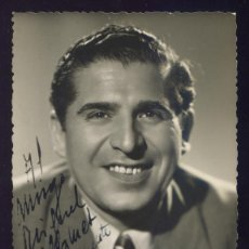 Autógrafos de Música: FOTO CANTANTE *MARIO VISCONTI*, CON AUTOGRAFO - 1953 FOTO ANTONIO (ZARAGOZA). Lote 40596415