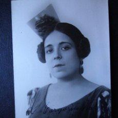 Autógrafos de Música: ANTIGUO AUTÓGRAFO SOBRE FOTOGRAFIA DEDICADA - CORA RAGA - FAMOSA CANTANTE DE ZARZUELA AÑOS 20 - 1923. Lote 41252089