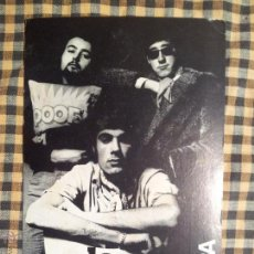 Autógrafos de Música : LA TRINCA POSTAL PROMOCION DISCOS EDIGSA BARCELONA 1969..AUTOGRAFIADA. Lote 42724425