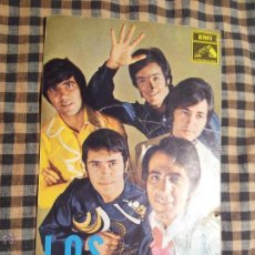 Autógrafos de Música : LOS MUSTANG POSTAL PROMOCIONAL EMI ODEON CONJUNTOS AÑOS 60 ESPAÑA ORIGINAL 1969. Lote 42737012