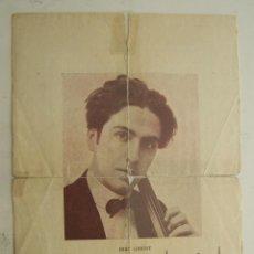 Autógrafos de Música : 1924 TARRAGONA TEATRO PRINCIPAL AUTOGRAFO Y DEDICATORIA JUAN GIBERT VIOLONCHELISTA. Lote 48760862