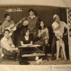 Autógrafos de Música : FOTO TARJETA GRUPO ESPAÑOL CON AUTOGRAFO AUTOGRAFOS, CA.1960/70. REF.14. Lote 46355811