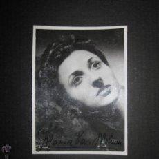 Autógrafos de Música : MARIA PAZ MOLINERO - FOTO Y AUTOGRAFO - VER MEDIDAS FOTO ADICIONAL - (V-1904). Lote 47291439