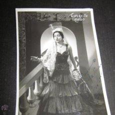 Autógrafos de Música : TERESITA ABAD - FOTO Y AUTOGRAFO - VER MEDIDAS FOTO ADICIONAL - (V-1910). Lote 47291555