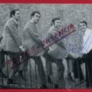 Autógrafos de Música : POSTAL PUBLICIDAD GRUPO MUSICAL RUDY VENTURA , AUTOGRAFO , ORIGINAL. Lote 49368113