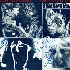 Autógrafos de Música : DISCO FIRMADO POR ROLLING STONES X 5 - 2001 - PVP 4500€. Lote 49548195