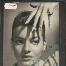Autógrafos de Música : LILIAN DE CELIS - AUTOGRAFO - FOTO DE CANTANTE - MIDE 11 X 17 CM - VER REVERSO - (V-3050). Lote 51563814
