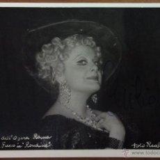 Autógrafos de Música : CECILIA FUSCO IN 'RONDINE'. TEATRO DELL'OPERA. CON AUTÓGRAFO ORIGINAL. FOTO REALE, ROMA. . Lote 53429340