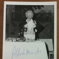 Autógrafos de Música : ALFREDO MARIOTTI. DULCAMARA NE L'ELISIR D'AMORE. TEATRO DELL'OPERA, ROMA. CON AUTÓGRAFO ORIGINAL. . Lote 53429564