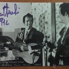 Autógrafos de Música : TEATRO COMUNALE FIRENZE. BARITONO MARCO STECCHI 'FIGARO' CON AUTÓGRAFO ORIGINAL.. Lote 53429693
