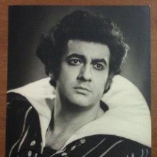 Autógrafos de Música : PLACIDO DOMINGO. STAATSOPER HAMBURG. CON AUTÓGRAFO ORIGINAL.. Lote 53513331