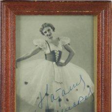 Autógrafos de Música : O2-032. AUTOGRAFO ORIGINAL DE LA BAILARINA HADAMS GUMCRES ?. 1959.. Lote 49501513