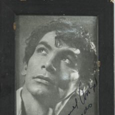 Autógrafos de Música : O2-039. AUTOGRAFO ORIGINAL DEL CANTANTE DE FLAMENCO MANOLO VARGAS. AÑOS 30.. Lote 49508077