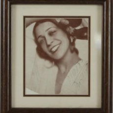 Autógrafos de Música : O2-046. AUTOGRAFO ORIGINAL DE LA ARGENTINA. BAILARINA. 1921. Lote 49510860