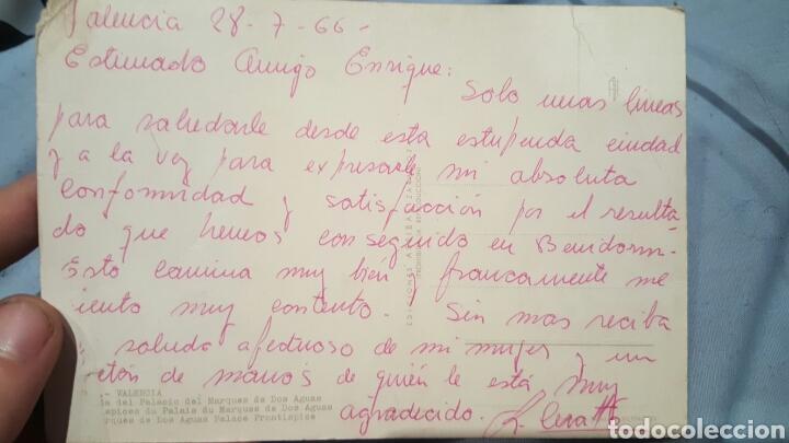 POSTAL DE AGRADECIMIENTO DEL CANTANTE COMPOSITOR RICARDO CERATTO A ENRIQUE GAREA (DESCUBRIDOR) 1966 (Música - Autógrafos de Cantantes )
