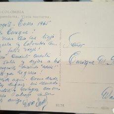 Autógrafos de Música : POSTAL DE MARIO CLAVELL DESDE BOGOTÁ A ENRIQUE GAREA (DESCUBRIDOR DE ARTISTAS) 1965. Lote 61945730