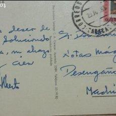 Autógrafos de Música : POSTAL ALBERTO CORTEZ (CANTANTE) DESDE VENEZUELA A ENRIQUE GAREA (DESCUBRIDOR DE TALENTOS )1969. Lote 62222432