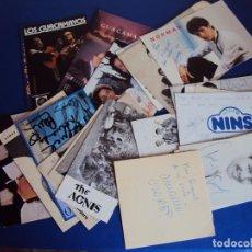 Autógrafos de Música : (PA-161200)LOTE DE 20 FOTOGRAFIAS DEDICADAS DE CANTANTES. Lote 69624673
