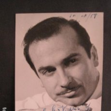 Autógrafos de Música : RAMON CALDUCH - AUTOGRAFO SOBRE FOTO - VER FOTOS -(V-8766). Lote 75231807