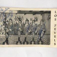 Autographes de Musique : POSTALES.-(H.1960) LOS J´EVELS. Lote 78597443