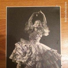 Autografi di Musica : MERCEDES MOZART - AUTOGRAFO ORIGINAL. Lote 82060504