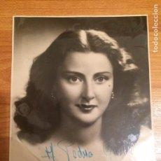 Autografi di Musica : PAQUITA GALLEGO - AUTOGRAFO ORIGINAL. Lote 82100344