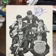 Autógrafos de Música : POSTAL CON AUTOGRAFO DE LOS ROCK´S. Lote 87446408