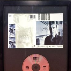 Autógrafos de Música : STING. AUTÓGRAFO EN CARÁTULA DE CD. THE DREAM OF BLUE TOURTLES. U.S.A.(?) CIRCA 1985. Lote 89177508