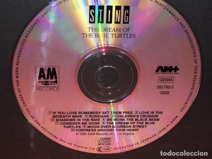 Autógrafos de Música : STING. AUTÓGRAFO EN CARÁTULA DE CD. THE DREAM OF BLUE TOURTLES. U.S.A.(?) CIRCA 1985 - Foto 2 - 89177508