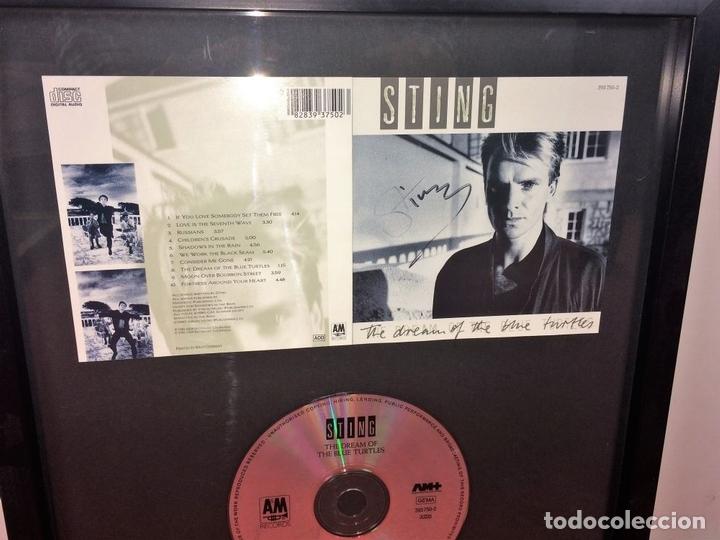 Autógrafos de Música : STING. AUTÓGRAFO EN CARÁTULA DE CD. THE DREAM OF BLUE TOURTLES. U.S.A.(?) CIRCA 1985 - Foto 3 - 89177508
