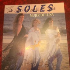 Autografi di Musica : SOLES - MUJER DE LUNA - AUTÓGRAFO. Lote 98407720