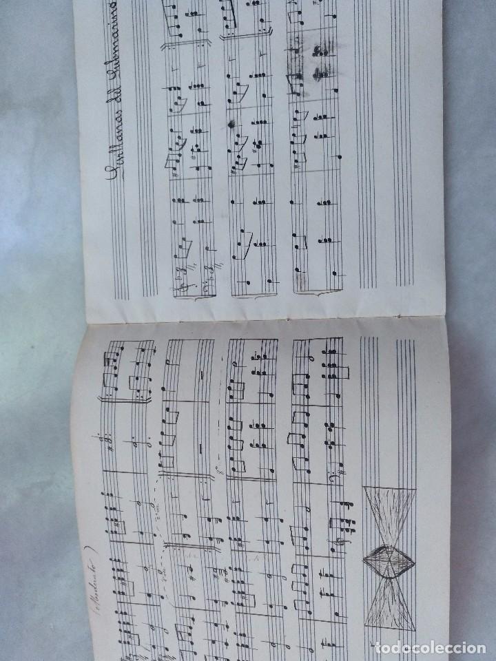 Autógrafos de Música : ANTIGUAS PARTITURAS MANUSCRITAS DE SEVILLANAS Y PANADEROS. COMPUESTAS POR EDUARDO FUENTES . - Foto 2 - 99726575