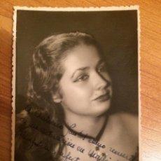 Autografi di Musica : CARMEN ESTRELLA - AUTOGRAFO. Lote 103782023