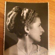 Autografi di Musica : SARA IMPERIO - AUTOGRAFO. Lote 103782115