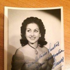 Autografi di Musica : LOLITA RAMOS - AUTOGRAFO. Lote 103782195