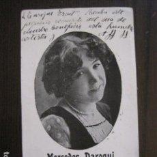 Autógrafos de Música : MERCEDES DAROQUI - AÑO 1916 - AUTOGRAFO - -VER FOTOS- (V-12.786). Lote 104629827