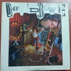 Autógrafos de Música : DISCO FIRMADO A MANO POR DAVID BOWIE, NEVER LET ME DOWN AÑO 1987 POR EMI AMERICA RECORDS. Lote 118143951