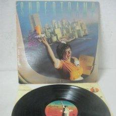 Autógrafos de Música : DISCO/LP FIRMADO A MANO POR ROGER HODGSON DE SUPERTRAMP-BREAKFAST IN AMERICA- AÑO 1979 A&M RECORDS. Lote 209094835