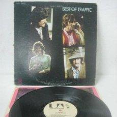 Autógrafos de Música : DISCO/LP FIRMADO A MANO POR STEVE WINWOOD Y DAVE MASON DE TRAFFIC-BEST OF TRAFFIC-1969 UNITED ARTIST. Lote 108778247