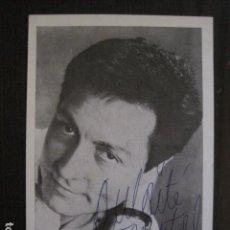 Autógrafos de Música : ROBERT JEANTAL - FOTOGRAFIA CON AUTOGRAFO -VER FOTOS-(V-13.179). Lote 109281315