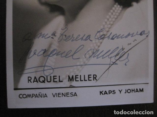 Autógrafos de Música : RAQUEL MELLER - FOTOGRAFIA CON AUTOGRAFO -VER FOTOS-(V-13.182) - Foto 2 - 109282203