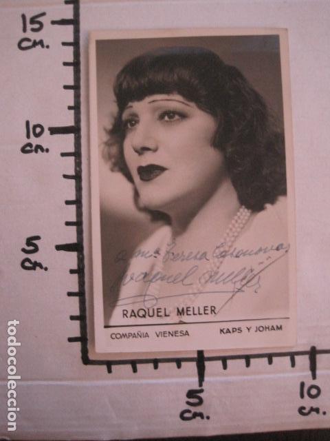 Autógrafos de Música : RAQUEL MELLER - FOTOGRAFIA CON AUTOGRAFO -VER FOTOS-(V-13.182) - Foto 4 - 109282203
