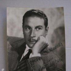 Autógrafos de Música : AMADEO NAZZARI - FOTOGRAFIA CON AUTOGRAFO -VER FOTOS-(V-13.184). Lote 109282603