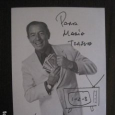 Autógrafos de Música : KIKO LEGARD - FOTOGRAFIA CON AUTOGRAFO -VER FOTOS-(V-13.186). Lote 109283267
