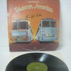 Autógrafos de Música : RARO DISCO/LP FIRMADO A MANO POR VAN DYKE PARKS - DISCOVER AMERICA- EN 1972 POR WARNER BROS RECORDS. Lote 109901255