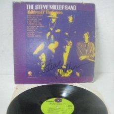 Autógrafos de Música : DISCO FIRMADO A MANO POR STEVE MILLER DE STEVE MILLER BAND-CHILDREN OF THE FUTURE - 1968 CAPITOL. Lote 109905791